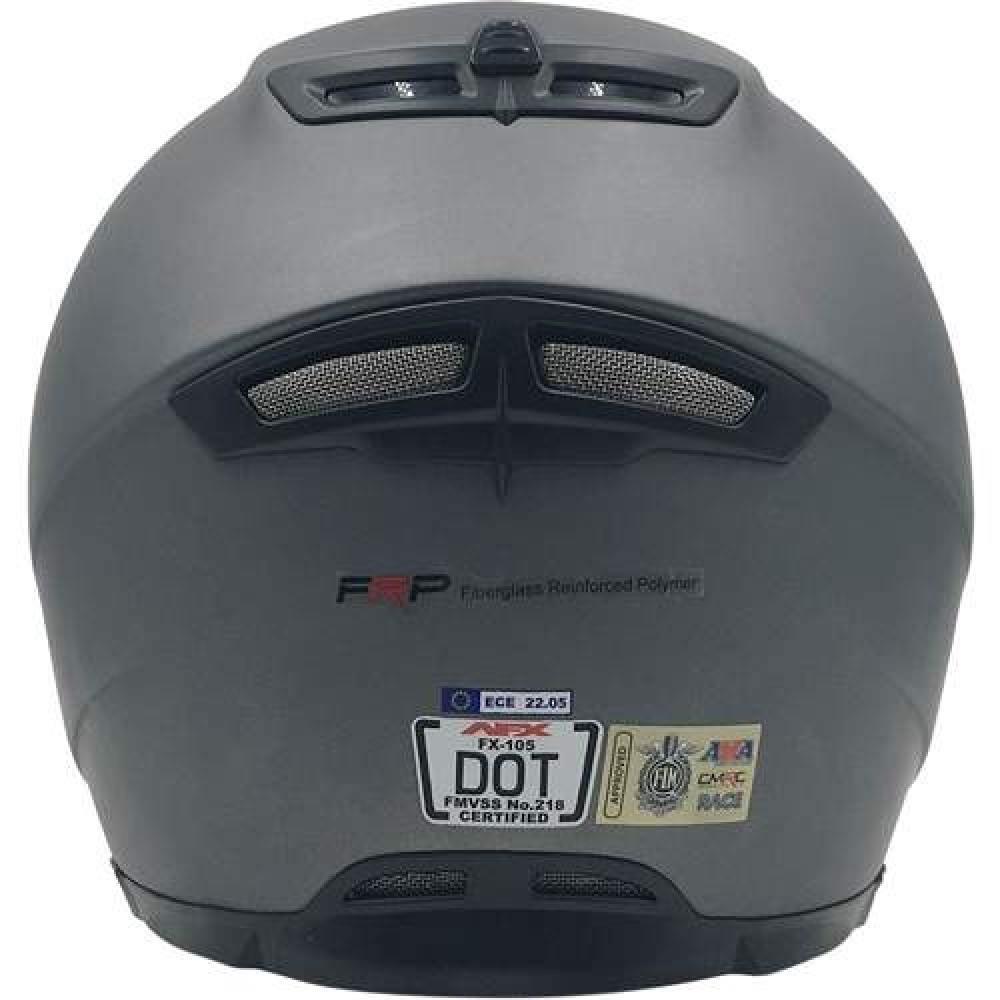 AFX FX-105 Street kypärä Silver   MC-Sport Webshop