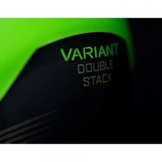 Casca integrala Icon Variant Double Stack Green