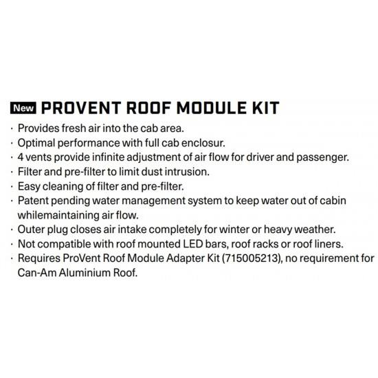 Kit ProVent Roof Module Kit