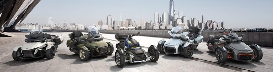 Ce este nou la modelele Can-Am Spyder și Can-Am Ryker 2021