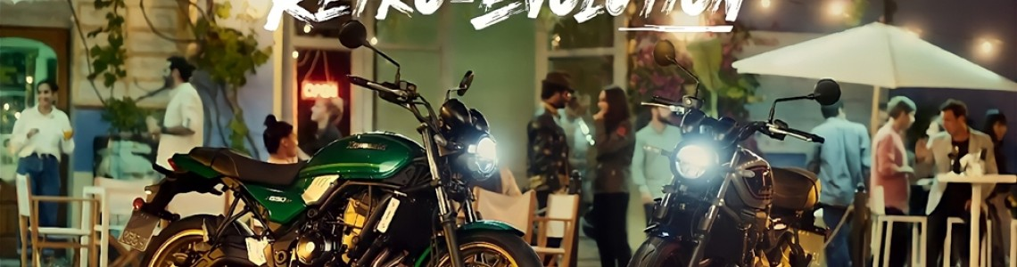 Noua motocicletă retro Kawasaki Z650RS 2022 lansată oficial