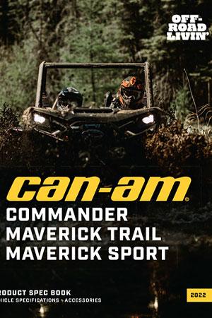 Catalog Accesorii Can-Am SSV Commander, Maverick Trail, Maverick Sport 2022